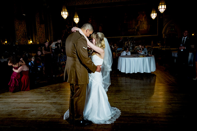 Grand hall first dance