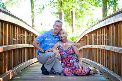 Kim & Paul :: Afterglow :: Duke Gardens