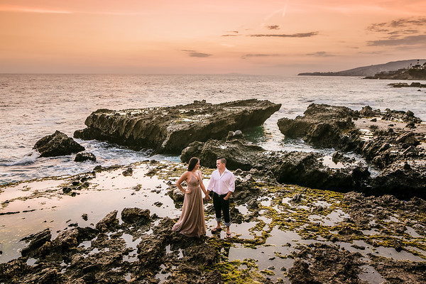 Laguna Beach Engagement   Taylor and Michael