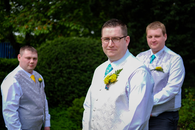 Groom and Two Ushers