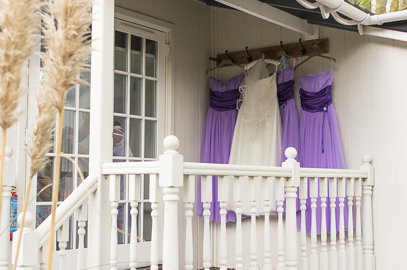 Wedding dress and Bridesmaids dress's