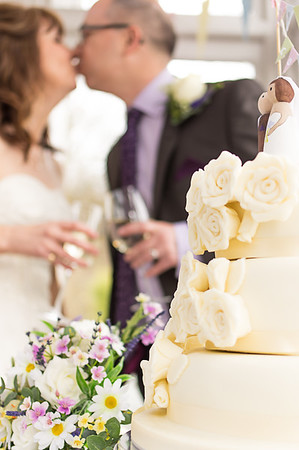 Wedding cake and Kiss