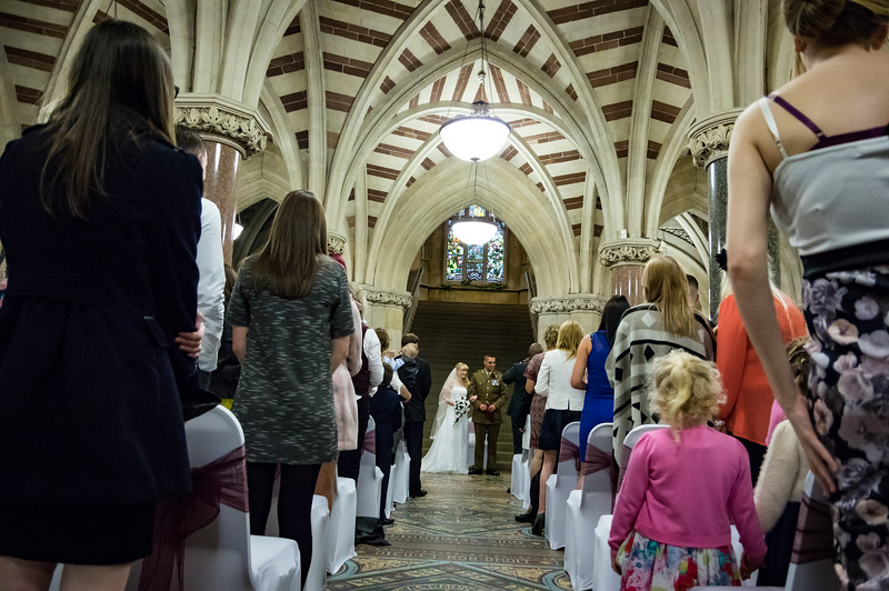 Wedding in Rochdale Town Hall
