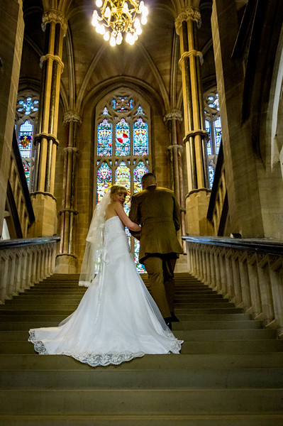 Wedding at Rochdale Town Hall