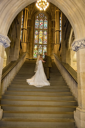 Rochdale Town Hall - Bride and Groom