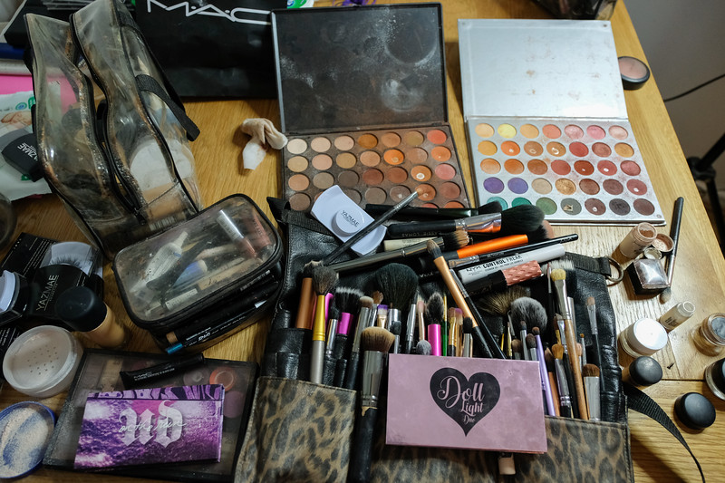 Wedding makeup kit