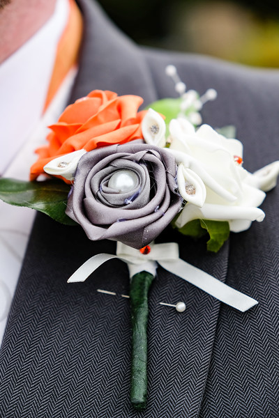 Lapel Wedding Flower