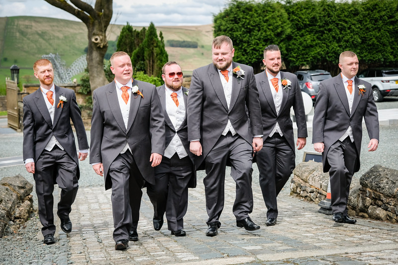 The Groom and Groomsmen