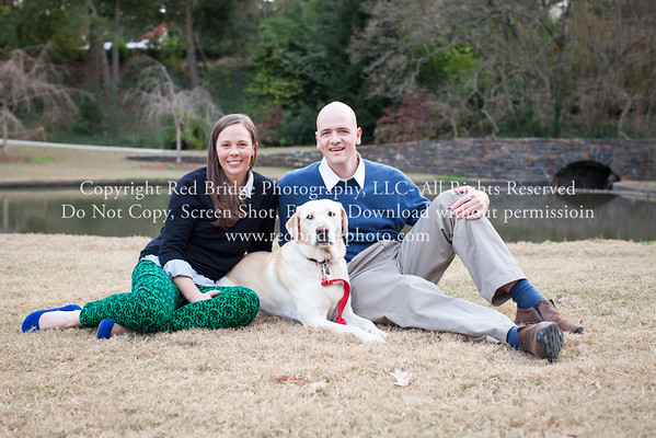 Sarah & Andrew : Engaged : Durham, NC