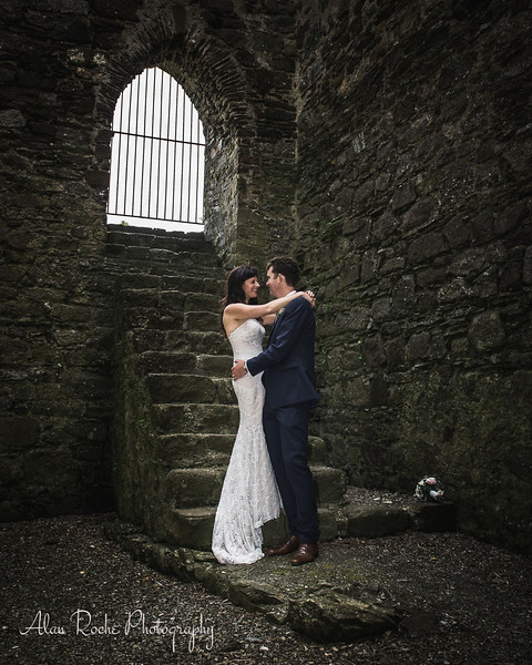 Lorna & Denis in Dunbrody Abbey Wexford