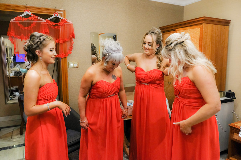 Four Bridesmaids