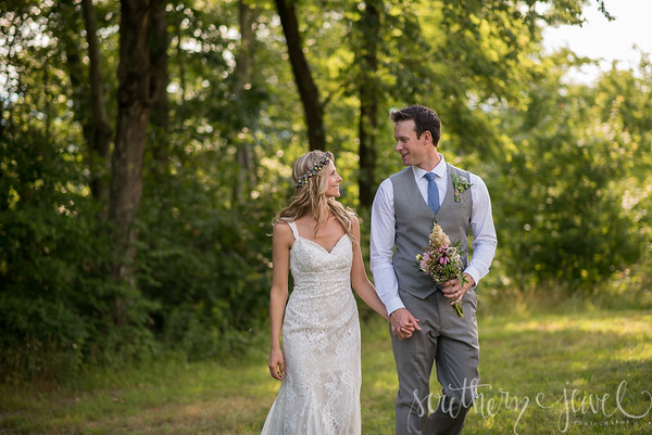 Len and Kristin Wedding