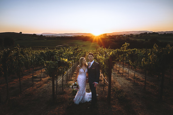 Shea and Harrison In Napa Valley