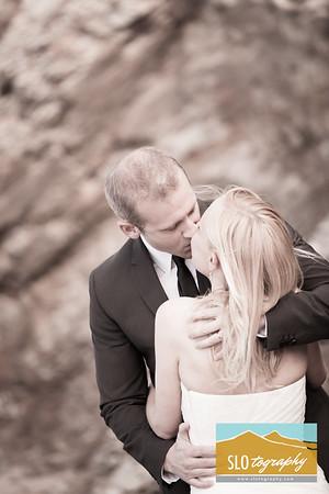 Andy+Rhoda ~ Shell Beach Wedding