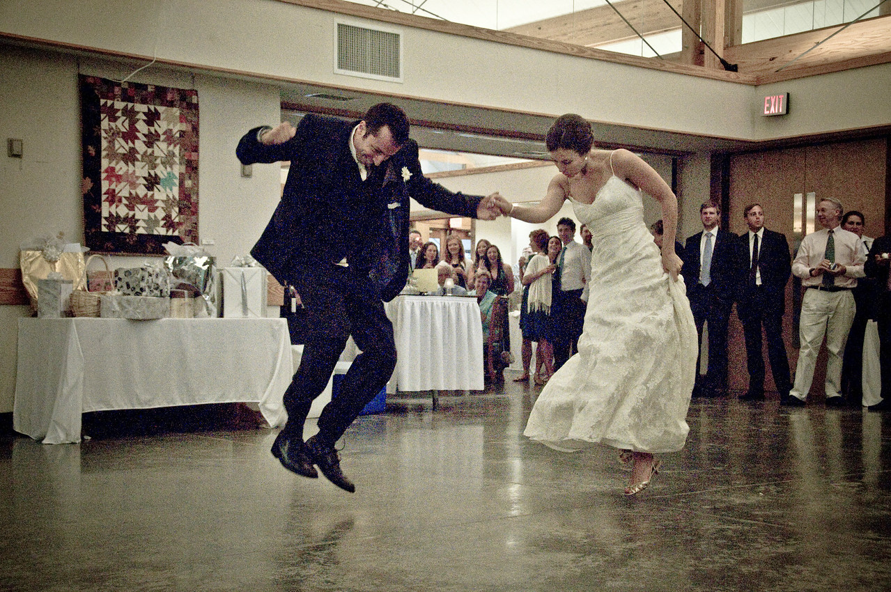 The best wedding dance in history...
