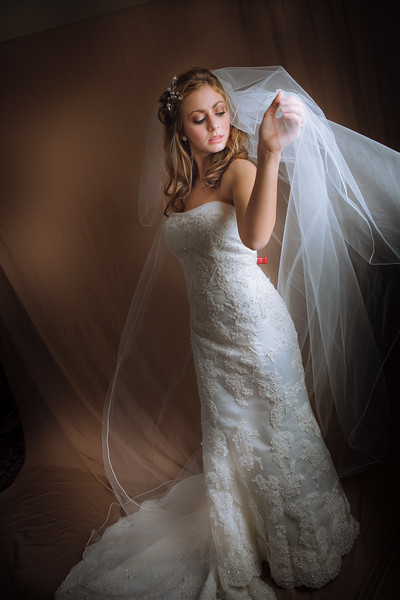 bridal dress photography