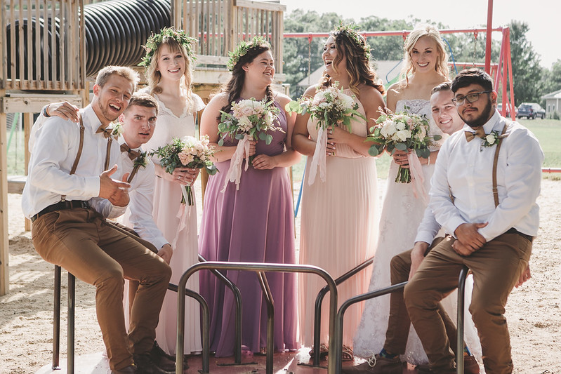 Grand Rapids, MI wedding at Pine Ridge Bible Camp