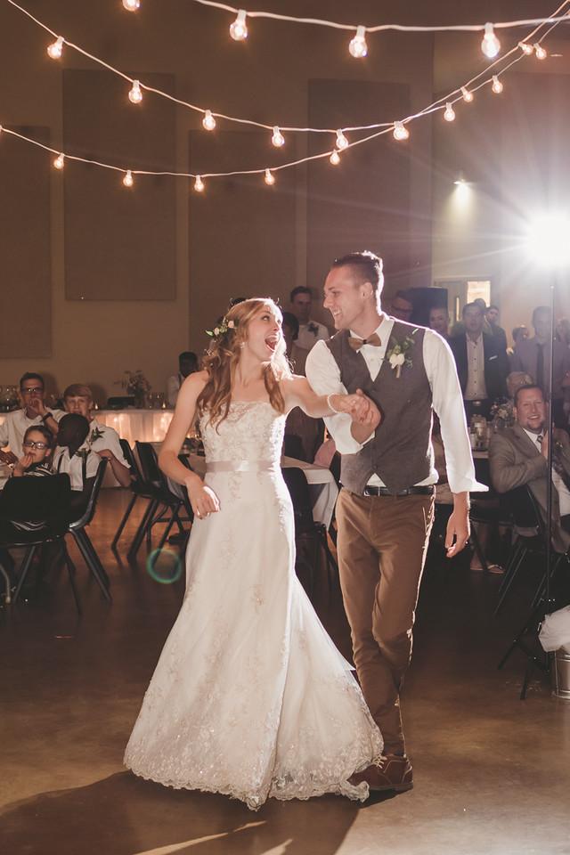 Grand Rapids, MI wedding first dance