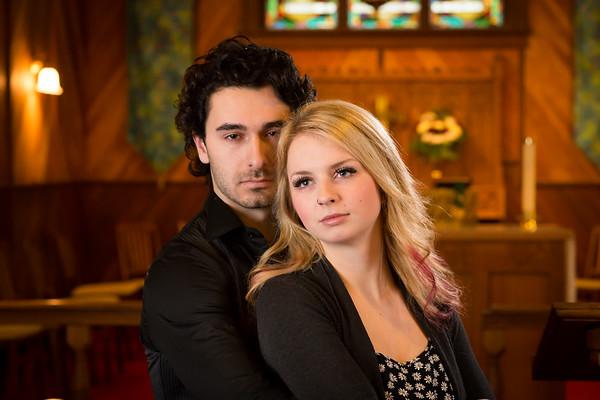 Courtney and Brady