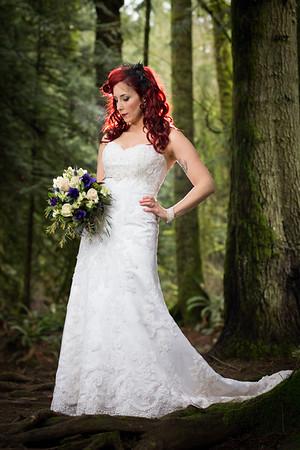 Bride Portrait - Vancouver Island, British Columbia, Canada