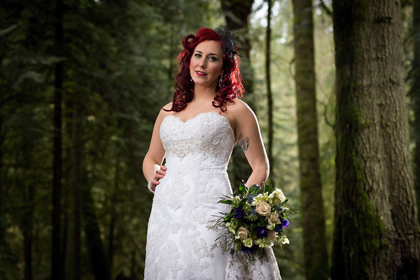 Kimberly and Tasha - Two Brides in the Forest