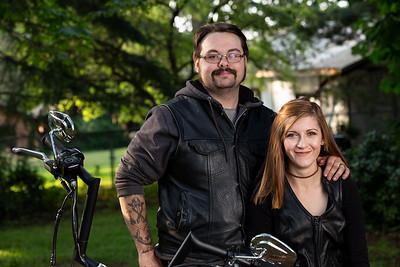 Rick and Courtney - Portrait - Vancouver Island, British Columbia, Canada