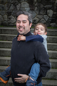 The Young Family - Portraits - Vancouver Island, BC, Canada