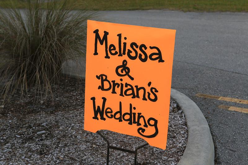 Melissa & Brian's Wedding