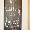The wedding of Emilie Coleman and Grant Girton