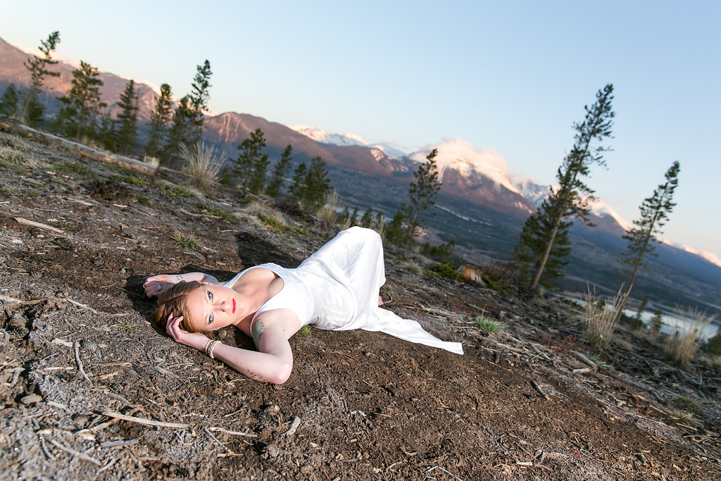 Colorado Wedding Bridal Portrait