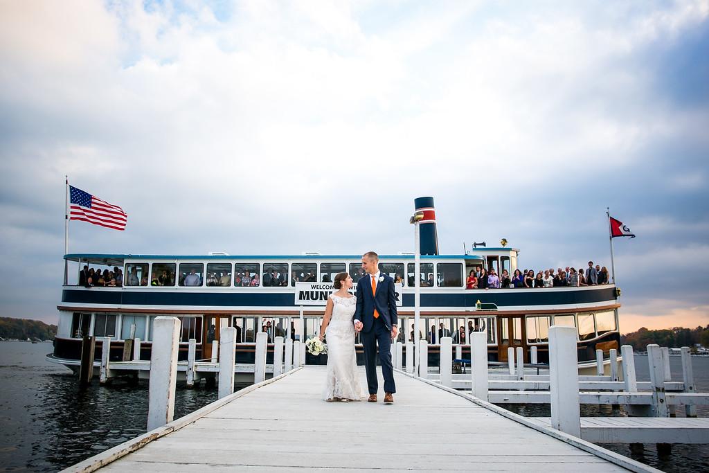 Lake Geneva Cruise Line Wedding