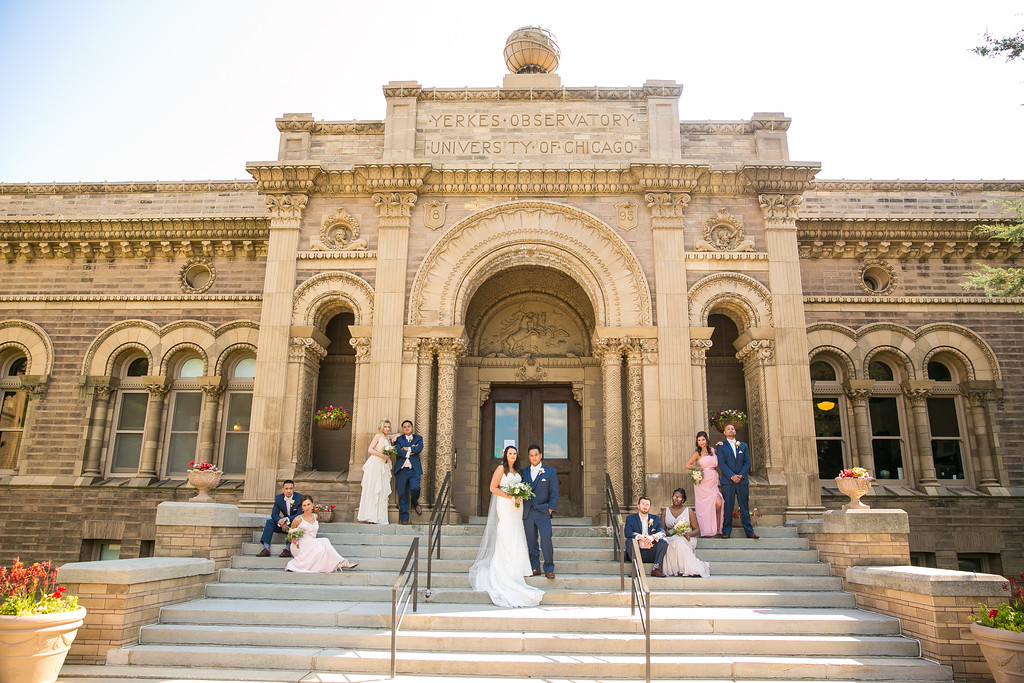 Yerkes Observatory Wedding Photos