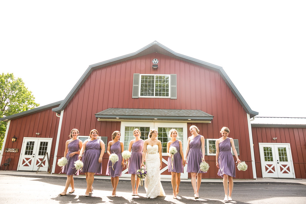 Rustic Manor Wisconsin Wedding