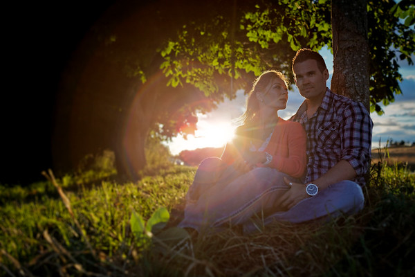 Sun Flare Couple