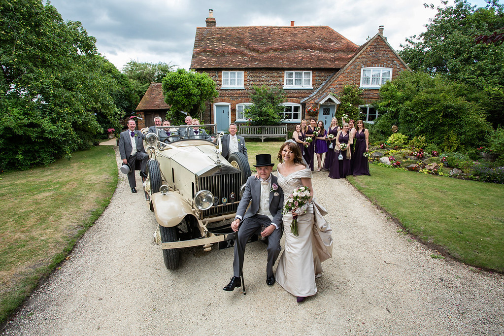 Oxfordshire rural wedding