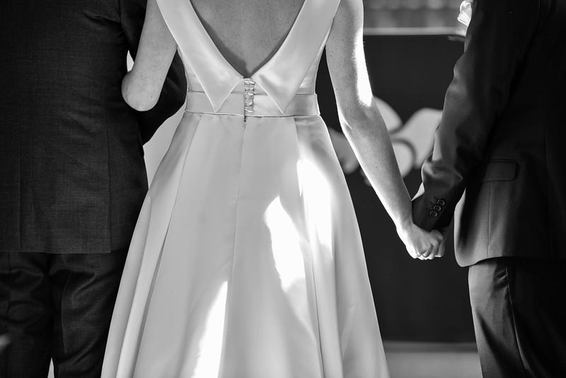 Black and White  tender moment