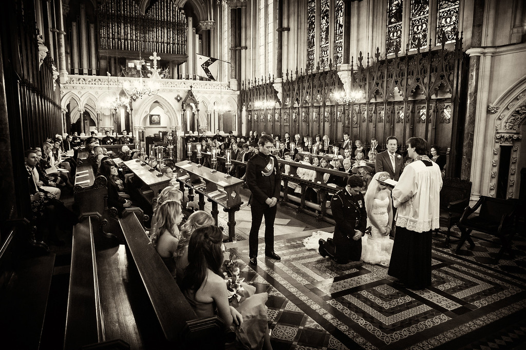 Exeter College Oxford wedding ceremony