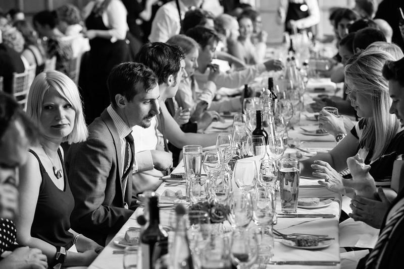 Long tables at Eynsham Hall