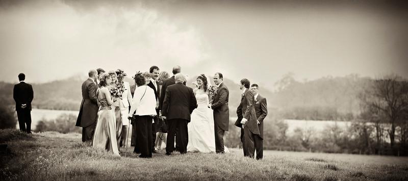 Claydon House wedding group