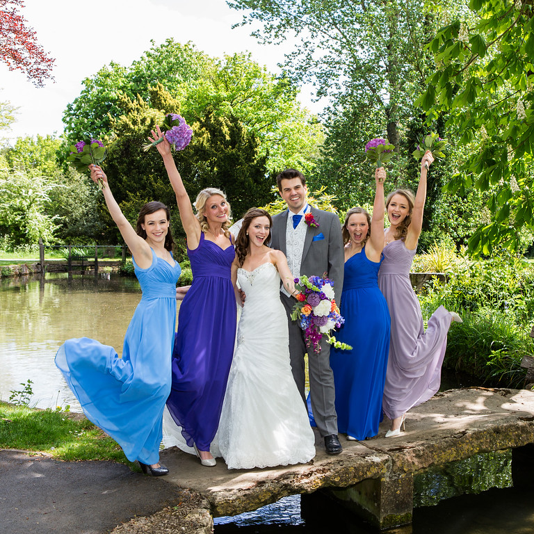 Cotswold wedding at Lower Slaughter