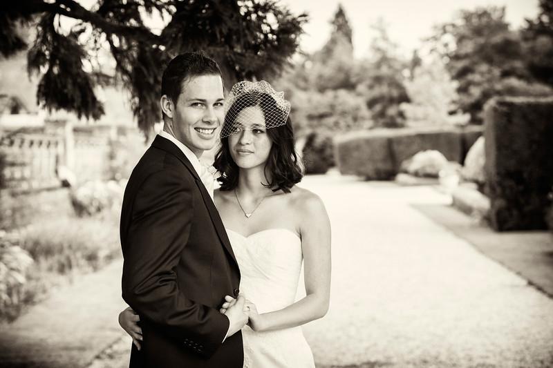 Eynsham Hall couple shot