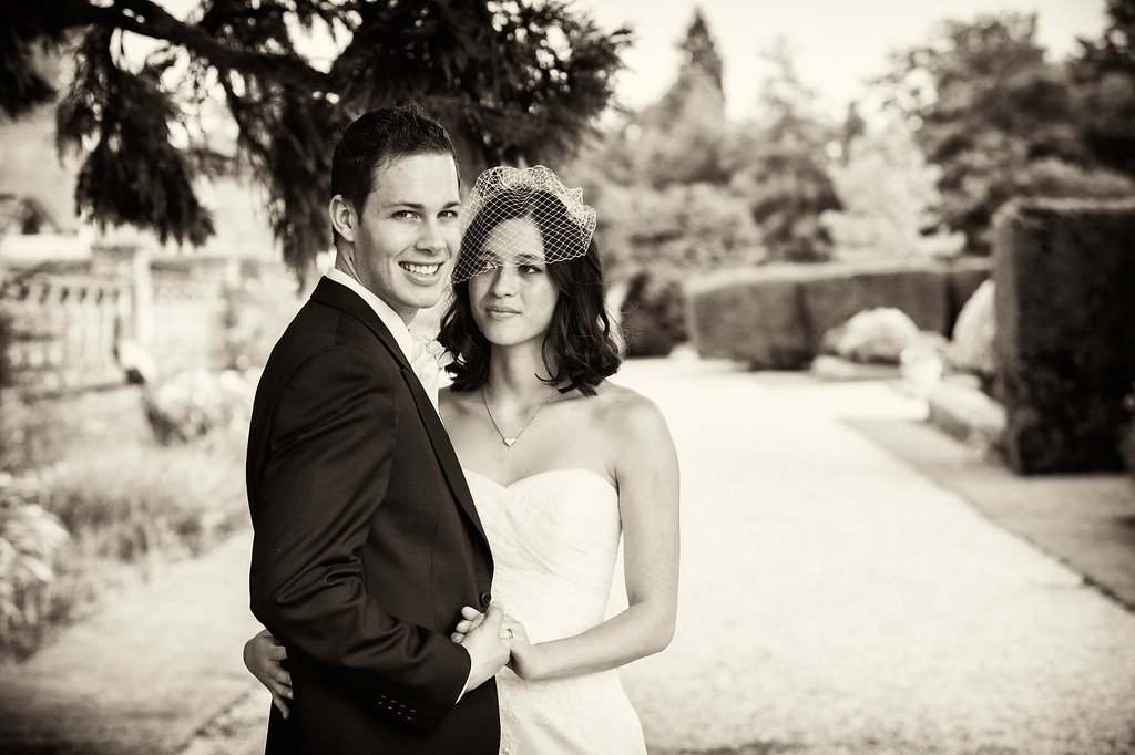 Eynsham Hall couple shot