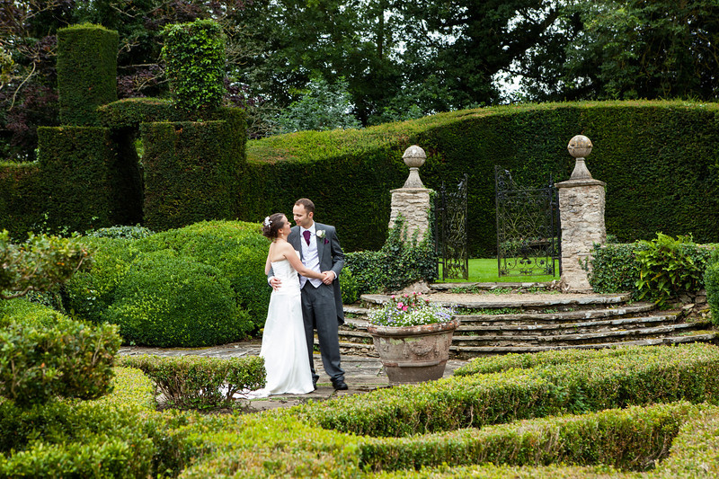 The Manor Country House Hotel wedding couple
