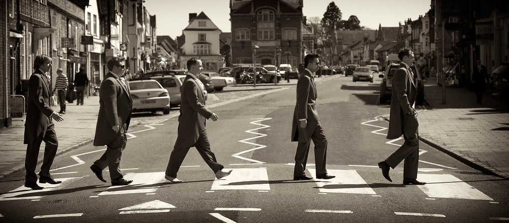 Abbey Road homage Thame