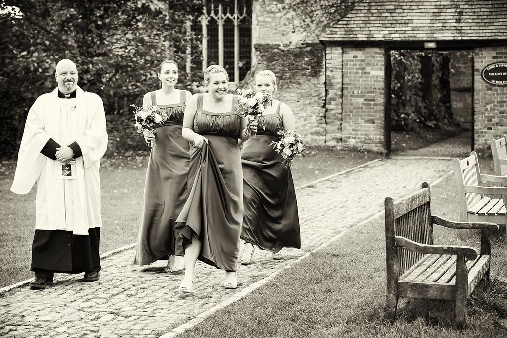 Bridesmaids St Mary's Haddenham
