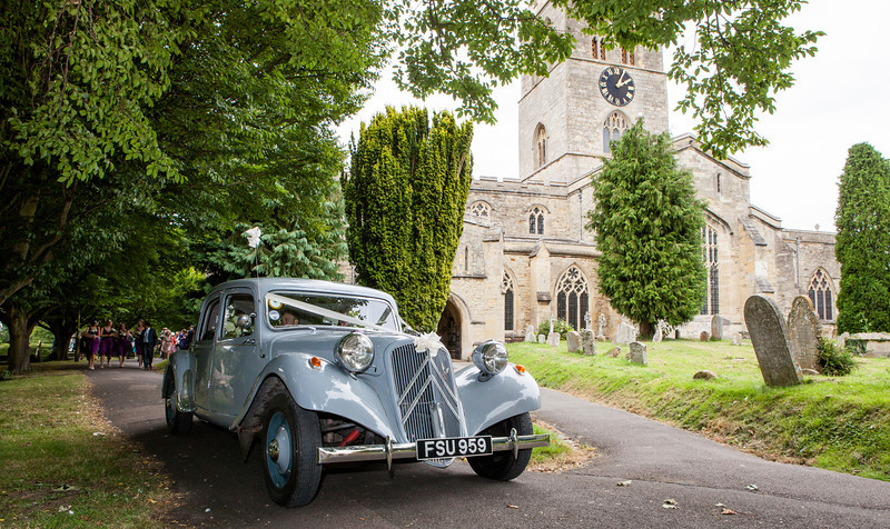 St Mary's Church Thame wedding