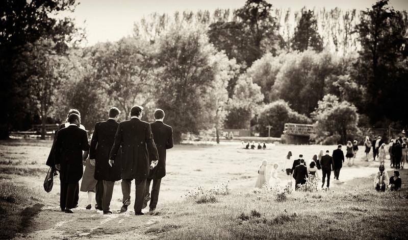 Port Meadow Oxford, summer wedding