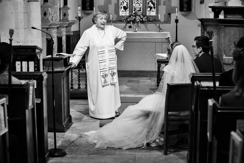 Chatty vicar