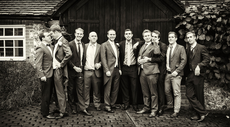 Groom's mates, Old Luxter's Barn