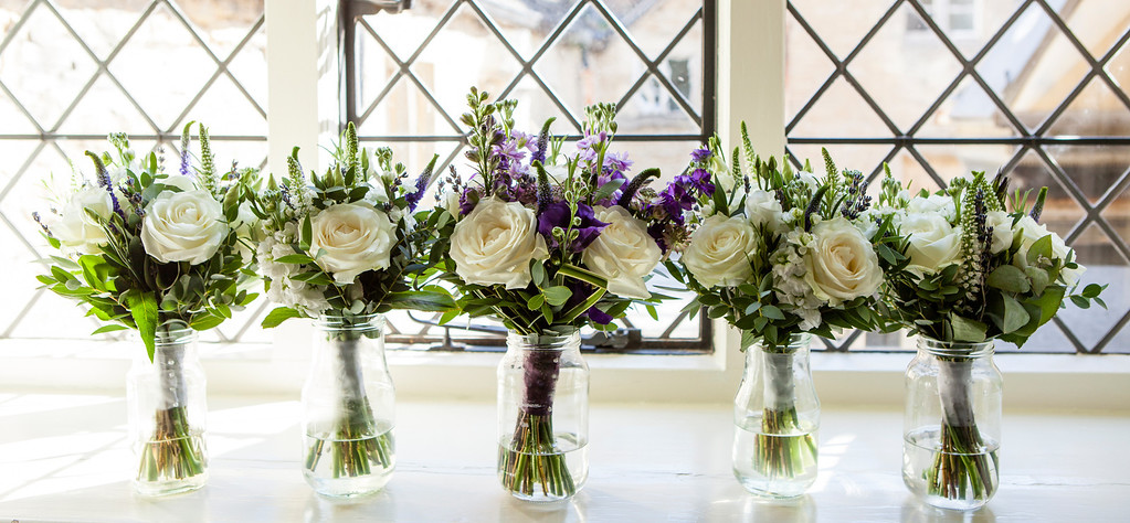 Bouquets at The Manor Country House Hotel, Weston